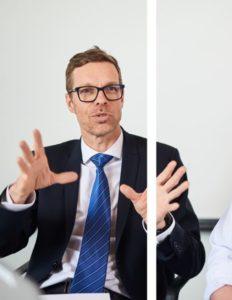 CEO Tarmo Martikainen explaining Coxa's concept